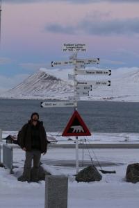 Polar bear warning