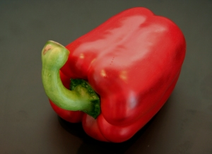 Yup, it's one red pepper
