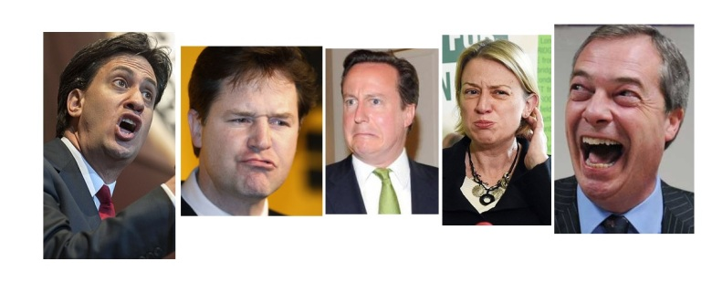 A selection of the many numpties eager to run your country